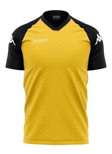 Kappa Erkek Polyester T-Shirt Aman  Sarı